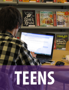 link to the teen section of the website