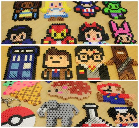 Collage of various Pixel Art creations