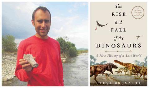 Photo of paleontologist Steve Brusatte