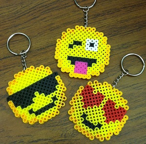 Emoji key chains