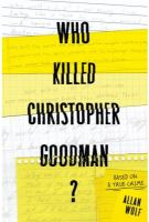 Cover of Who Killed Christopher Goodman?