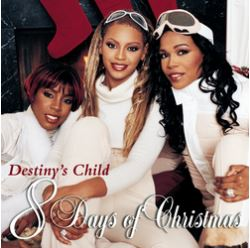 Cover of 8 Days of Christmas by Destiny's Child album