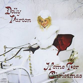 Cover of Home for Christmas album by Dolly Parton