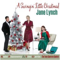 Cover of A Swingin' Little Christmas by Jane Lynch