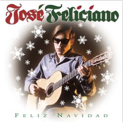 Cover of Feliz Navidad album by Jose Feliciano
