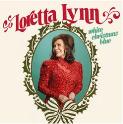 Cover of White Christmas Blue album by Loretta Lynn