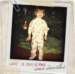 Cover of Love is Christmas single by Sara Bareilles