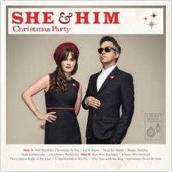 Cover of Christmas Party album by She & Him