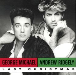 "Cover of ""Last Christmas"" single by Wham!"