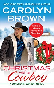 Cover of Christmas with a Cowboy by Carolyn Brown