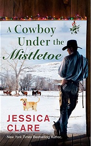 Cover of A Cowboy Under the Mistletoe by Jessica Clare