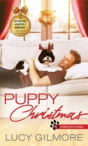 Cover of Puppy Christmas by Lucy Gilmore