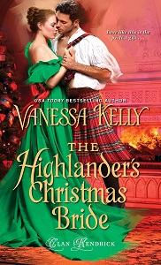 Cover of The Highlander's Christmas Bride by Vanessa Kelly