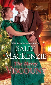 Cover of The Merry Viscount by Sally MacKenzie