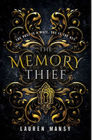 Cover of The Memory Thief by Lauren Mansy