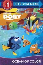 cover of Finding Dory: Ocean of Color