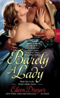 cover of Barely a Lady by Eileen Dreyer