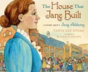 Cover of The House That Jane Built; a woman in profile