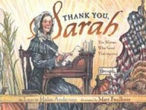 cover of Thank You, Sarah