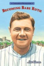 Cover of Becoming Babe Ruth