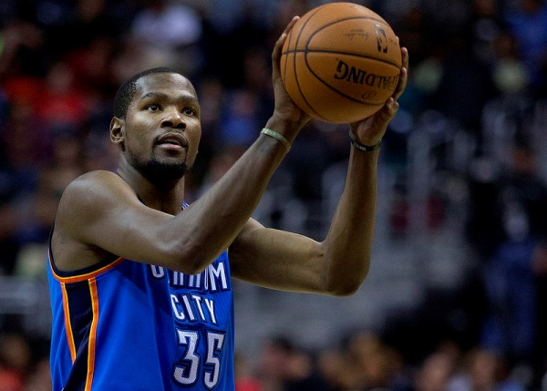 Kevin Durant Free Throw Picture