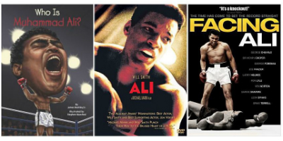 Covers of Ali-related titles