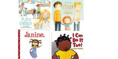 Diverse families book covers