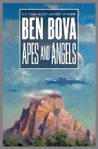 Cover art for Apes and Angels  by Ben Bova