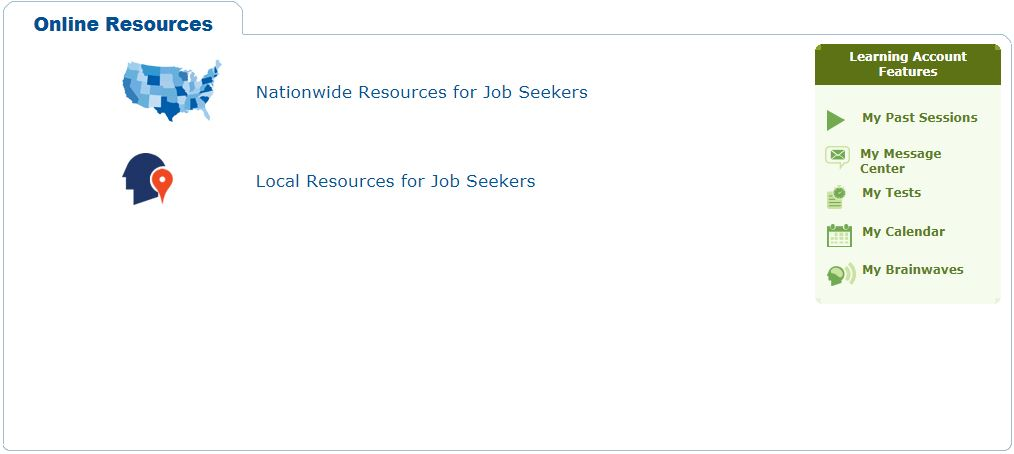 Job search engines on JobNow website
