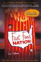 Cover art for Fast Food Nation by Eric Schlosser