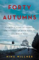 Cover art for Forty Autumns
