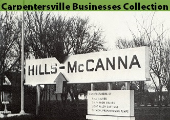 Photo of Hills-McCanna sign