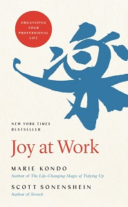 Cover art for Joy at Work by Marie Kondo