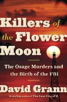 Cover art for Killers of the Flower Moon by David Grann