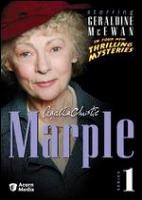 Cover art for Agatha Christie Marple series 1 DVD