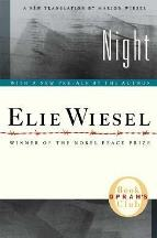 Cover art for Night by Elie Wiesel