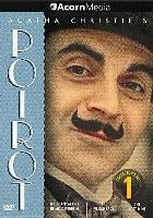 Cover art for Agatha Christie's Poirot series 1 DVD