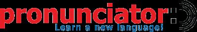 Pronunciator logo