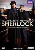 Cover art for Sherlock season one DVD