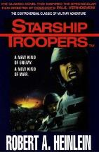 Cover art for Starship Troopers by Robert A. Heinlein