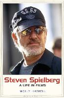 Cover art for Steven Spielberg by Molly Haskell