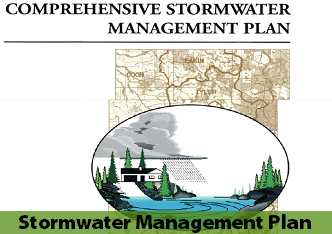 Cover page of 1998 Comprehensive Stormwater Management Plan