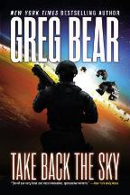 Cover art for Take Back the Sky by Greg Bear