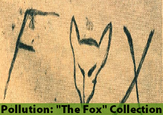 "Photo of vigilante ""The Fox"" calling card"